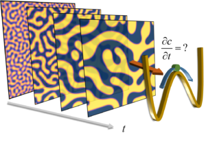 Image inversion of spinodal decomposition
